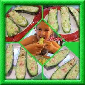 Natasha's Cucumber Boat Recipe