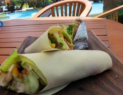 Lunch Veggie Wrap