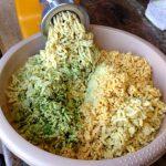 falafel mixture - out of grinder