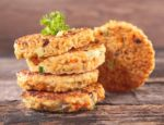 quinoa burgers with vegetables